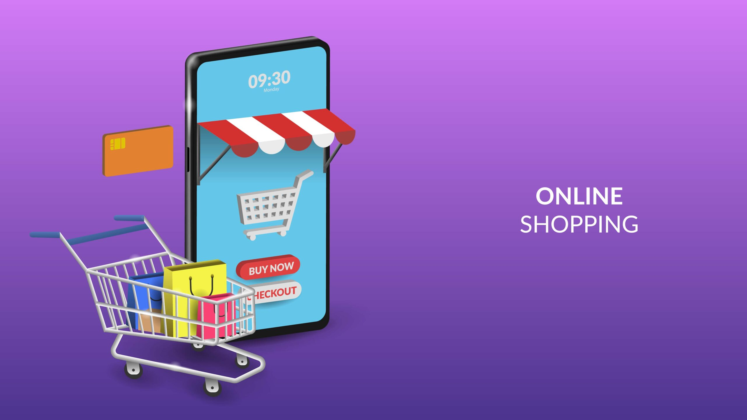 online shopping mobile